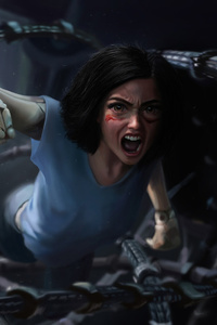 Alita Battle Angel Fan Art