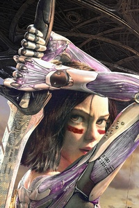 Alita Battle Angel Fanart 4k