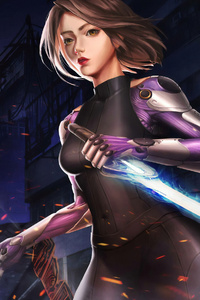 Alita Battle Angel New Art
