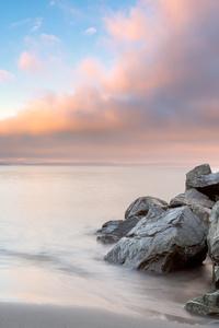 320x568 Alki Beach Sunrise 4k