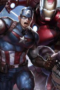 All Avengers Assemble 4k