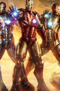 All Iron Man Suit