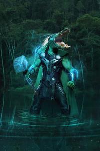 640x960 AlligaThor Loki 4k