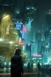 Alone In Scifi Street 5k