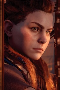 Aloy Portrait Horizon Zero Dawn 4k