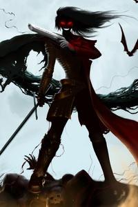 1080x1920 Alucard Hellsing Ultimate Dracula Gothic 4k