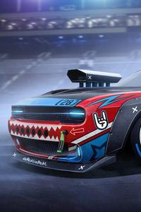 Amazing Drift Car Artwork