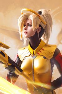 2160x3840 Amazing Mercy Overwatch 4k