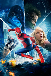 750x1334 Amazing Spiderman 2 8k