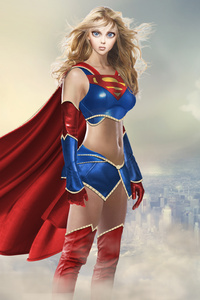 640x1136 Amazing Supergirl