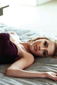 Amber Heard Lying Down