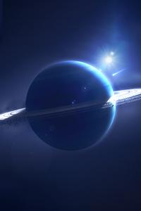 480x800 Ambient Planet Comet 5k