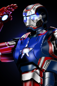 American War Machine Iron Patriot
