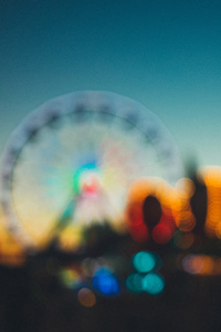 Amusement Park Blur 5k