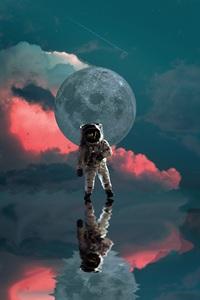 An Astronaut 4k