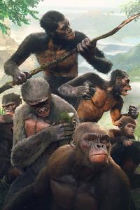 480x800 Ancestors The Humankind Odyssey 4k