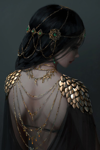 640x960 Ancient Girl Jewellery