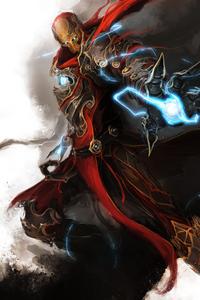 Ancient Iron Man 4k
