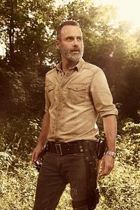 Andrew Lincoln In The Walking Dead Season 9 2018 5k