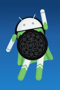 Android Oreo Logo 4k