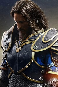 1080x1920 Anduin Lothar In Warcraft Movie