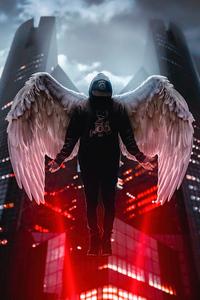 Angel Boy Hoodie 4k