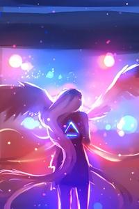 1080x2160 Angel Fantasy Wings