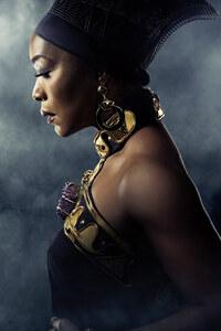 Angela Bassett In Black Panther Poster 5k