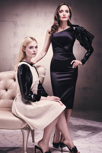 Angelina Jolie And Elle Fanning 2019