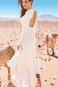 Angelina Jolie Harpers Bazaar