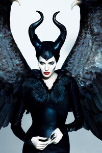 Angelina Jolie In Maleficent Movie HD