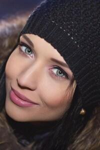 1440x2560 Angelina Petrova Smiling