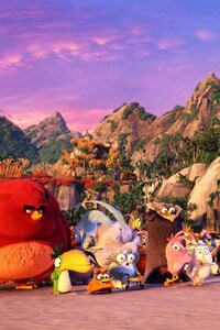 Angry Birds Movie All Characters