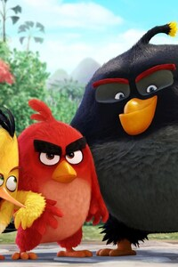 480x854 Angry Birds Movie Original
