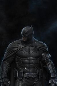 320x480 Angry Hunk Batman 4k
