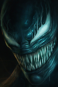 2160x3840 Angry Venom 4k