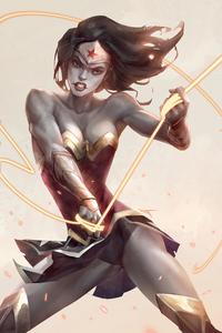 Angry Wonder Woman 4k
