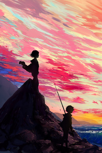 1080x1920 Anime Art 5k