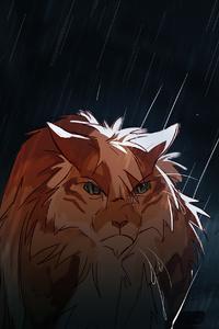 Anime Cat Art 4k