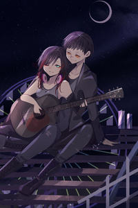 540x960 Anime Couple
