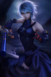 Anime Girl 4k Warrior