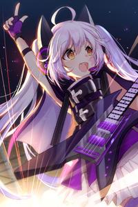 1080x1920 Anime Girl Concert 4k