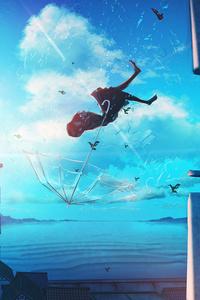 Anime Girl Falling