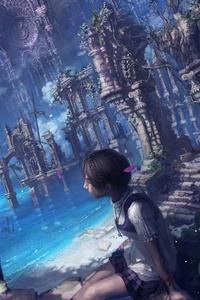 Anime Girl Fantasy Sailing Ship 4
