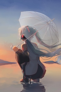 Anime Girl Hatsune Miku