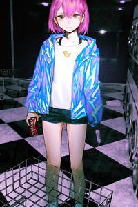 240x320 Anime Girl Laundary Day 4k