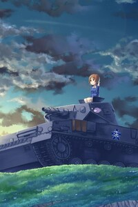 Anime Girl Panzer