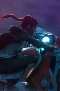 Anime Girl Rider