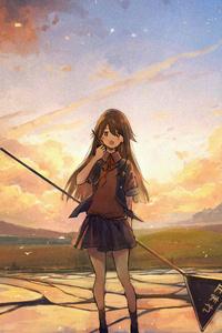 540x960 Anime Girl4k