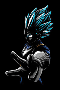 480x800 Anime Goku 4k